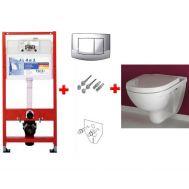 Купить Комплект инсталляции Tece и унитаза O.Novo (9.400.005-5660H101)