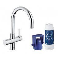 Купить Grohe Blue Pure 33249001 Смеситель для кухни с системой очистки воды (фильтр на 600 л.)