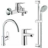 Купить Grohe BauLoop 123225K Смесители для кухни, ванны, умывальника, стойки S-Size