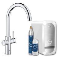 Купить Grohe Blue Home 31455000 Смеситель для кухни с системой очистки  воды