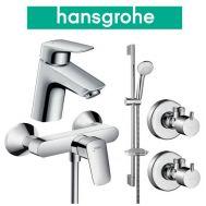 Купить Hansgrohe Logis 70 (710716411) Набор для душа 4 в 1 хром