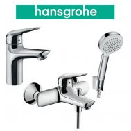 Купить Hansgrohe Novus 100 (710342663) Набор для ванны 3 в 1 хром