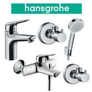 Купить Hansgrohe Novus 100 (710342664) Набор для ванны 4 в 1 хром