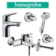 Купить Hansgrohe Novus 100 (710342665) Набор для ванны 5 в 1 хром