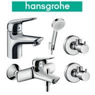 Купить Hansgrohe Novus 70 (710242664) Набор для ванны 4 в 1 хром