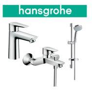 Купить Hansgrohe Talis E (71742773) Набор для ванны 3 в 1 хром