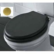Купить Крышка для унитаза черное дерево бронза Globo Paestum (PA134)