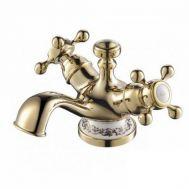 Купить Смеситель для раковины золото Devit Charlestone Ceramic (80511142G)