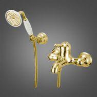 Купить Смеситель для ванны золото Devit Charlestone (CN60012137G)