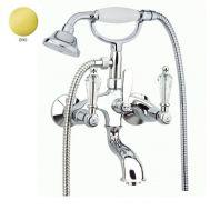 Купить Fiore Gioielli (08OO0600) Смеситель для ванны с ручным душем золото/Swarovski