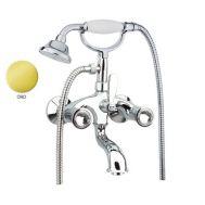 Купить Fiore Venere Sky (13OO0600) Смеситель для ванны с ручным душем золото/Swarovski