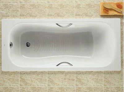 Купить Ванна стальная с ручками Roca Princess 170x75 (A220270001)