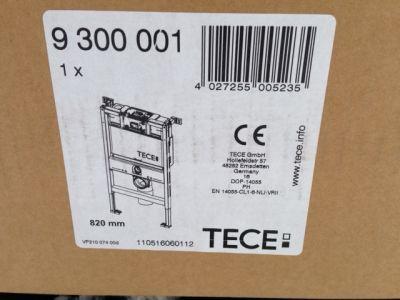 Купить Инсталляция для подвесного унитаза, высота 82см Tece (9.300.001)