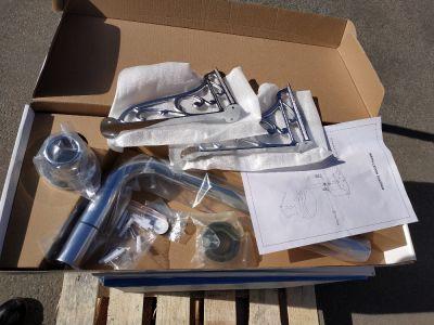 Сливной механизм с трубой и креплением Devit Classic 3010151