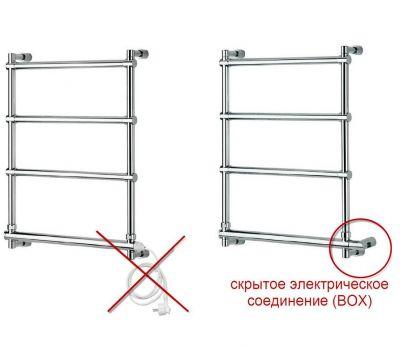 Купить Полотенцесушитель электрический 9-564 бронза 68x78.4 см Margaroli (9-564/B/BR)