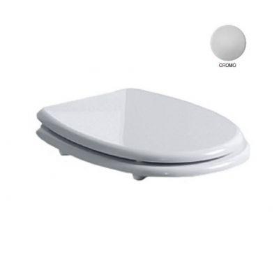 Купить Крышка для унитаза белая хром Simas Arcade AR002