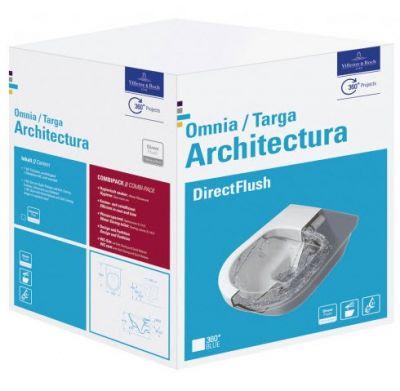 Купить Комплект инсталляции Tece и унитаза Villeroy&Boch Omnia Architectura DirectFlush (9.400.006-5684HR01)