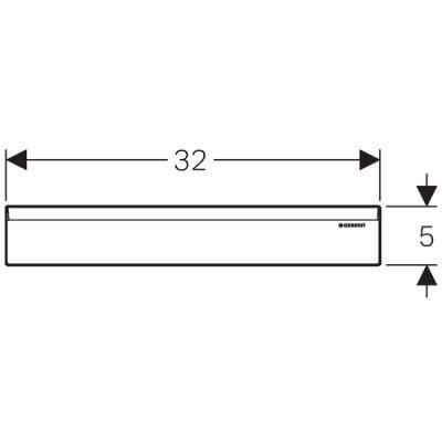 Купить Накладка для душевого трапа (для инсталляции) нержавеющая сталь (154.336.FW.1)