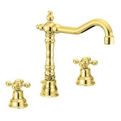 Купить Смеситель для раковины золото Devit Charlestone (CN60107019G)