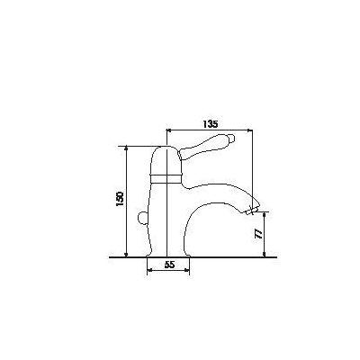 Купить Смеситель для раковины хром Giulini Harmony (9505A)