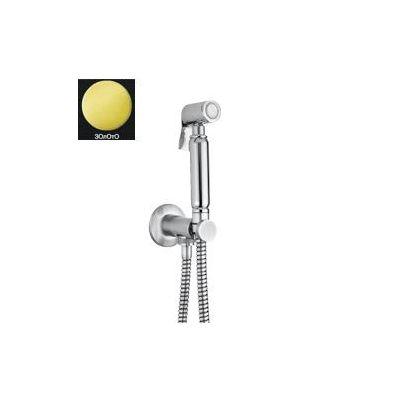 Купить Гигиенический душ с подключением и шлангом золото Giulini (SH05O)