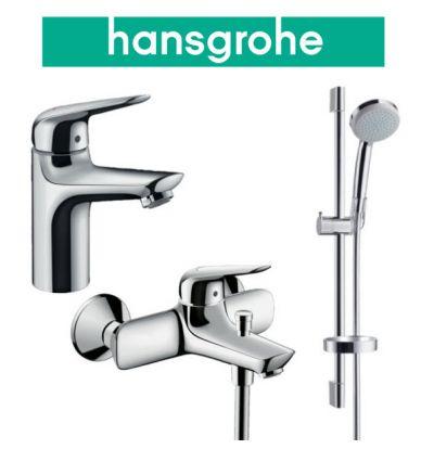 Купить Hansgrohe Novus 100 (710342773) Набор для ванны 3 в 1 хром