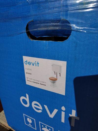 фото коробки унитаза Devit Classic 3010151