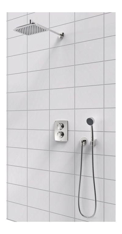Купить Oras Optima 7139 термостатический душевой комплект (скрытый монтаж)