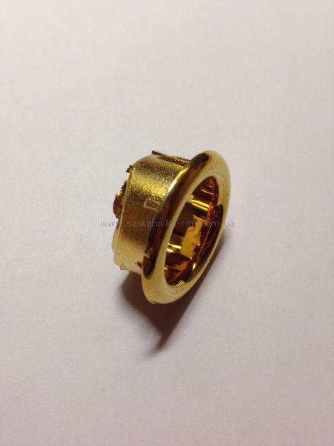 Купить Кольцо перелива для раковины золото Kerasan (811033)