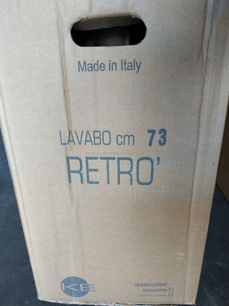 Kerasan retro умывальник 73 см фото упаковки