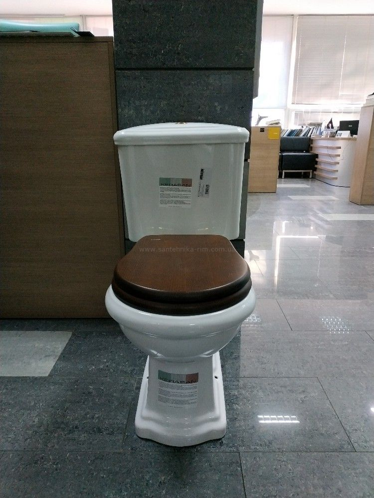 Купить Унитаз с бачком и механизмом хром Kerasan Retro (101301-750990)