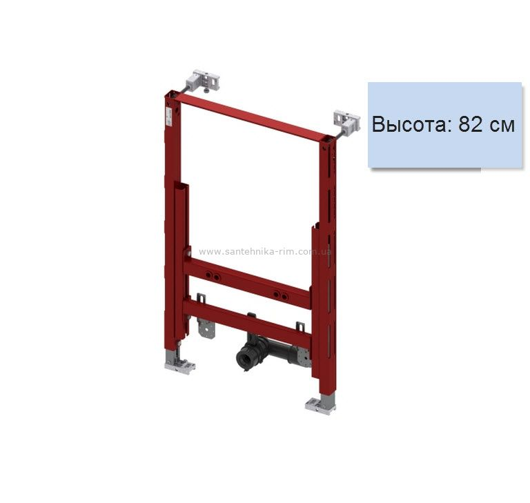 Купить Инсталляция для подвесного биде, высота 82 см Tece (9.330.005)