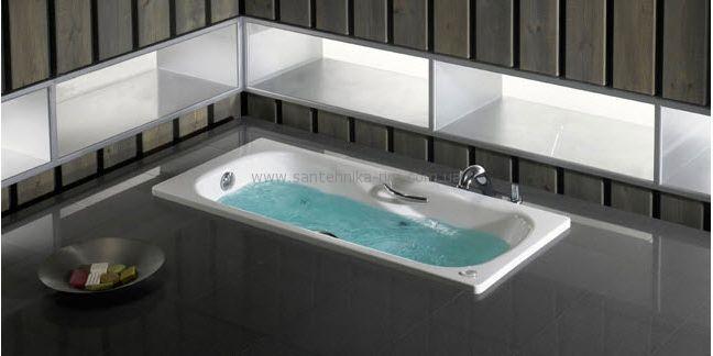 Купить Ванна стальная с ручками Roca Princess 150x75 (A220470001)
