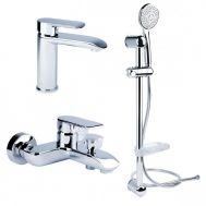 Купить Bianchi Joy KIT2021SMCRM Смеситель для умывальника, ванна,  стойка хром в santehnika-rim.com.ua