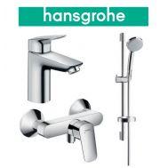 Купить Hansgrohe Logis 100 (711716311) Набор для душа 3 в 1 хром