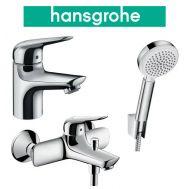 Купить Hansgrohe Novus 70 (710242663) Набор для ванны 3 в 1 хром