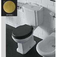 Купить Унитаз с бачком и механизмом бронза Globo Paestum (PA004BI-PA0122X) в santehnika-rim.com.ua