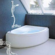 Купить Ванна 150 см с гидромассажем Jacuzi Broadway (9440-620A) в santehnika-rim.com.ua
