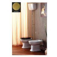 Купить Унитаз с высоким бачком и механизмом бронза Olympia Ceramica Impero (02.11-11.11-BCTUBR) в santehnika-rim.com.ua