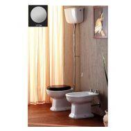 Купить Унитаз с высоким бачком и механизмом хром Olympia Ceramica Impero (02.11-11.11-BCTUCR) в santehnika-rim.com.ua
