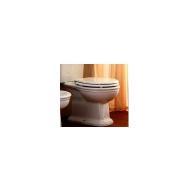 Купить Крышка для унитаза белая хром Olympia Ceramica Impero (С1.11) в santehnika-rim.com.ua