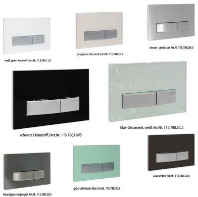Купить Клавиша Sigma50 зеркально дымчатое стекло (115.788.SD.5) в santehnika-rim.com.ua