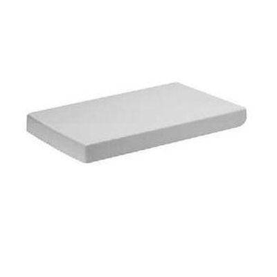 Купить Крышка для унитаза белая хром Duravit 2nd floor (0068990000) в santehnika-rim.com.ua