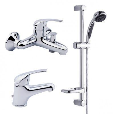 Купить Bianchi Star KITSTR2021SACRM Смеситель для умывальника,ванны,стойка хром