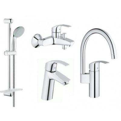 Купить Grohe Eurosmart 123248MK Смесители для кухни, ванны, умывальника, стойки S-Size