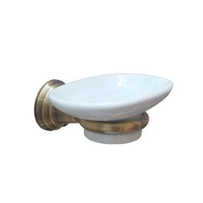 Купить Мыльница керамика бронза Canova (CA12292) в santehnika-rim.com.ua
