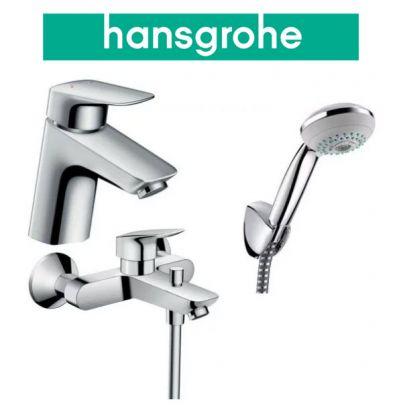 Купить Hansgrohe Logis 70 (710714310) Набор для ванны 3 в 1 хром