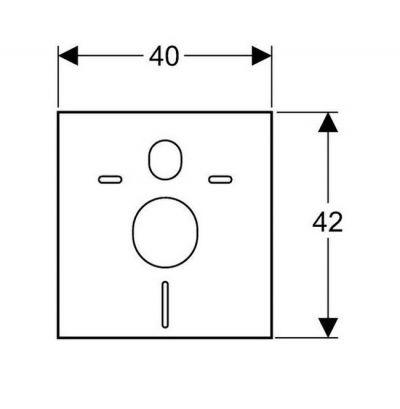 Купить Звукоизолирующая прокладка Geberit (156.050.00.1)