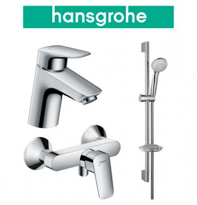 Купить Hansgrohe Logis 70 (710716311) Набор для душа 3 в 1 хром
