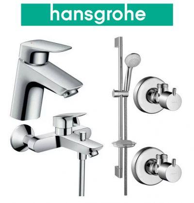 Купить Hansgrohe Logis 70 (710714411) Набор для ванны 4 в 1 хром